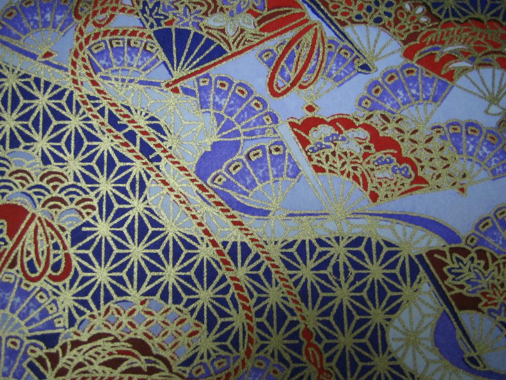 和紙(青紫色)2