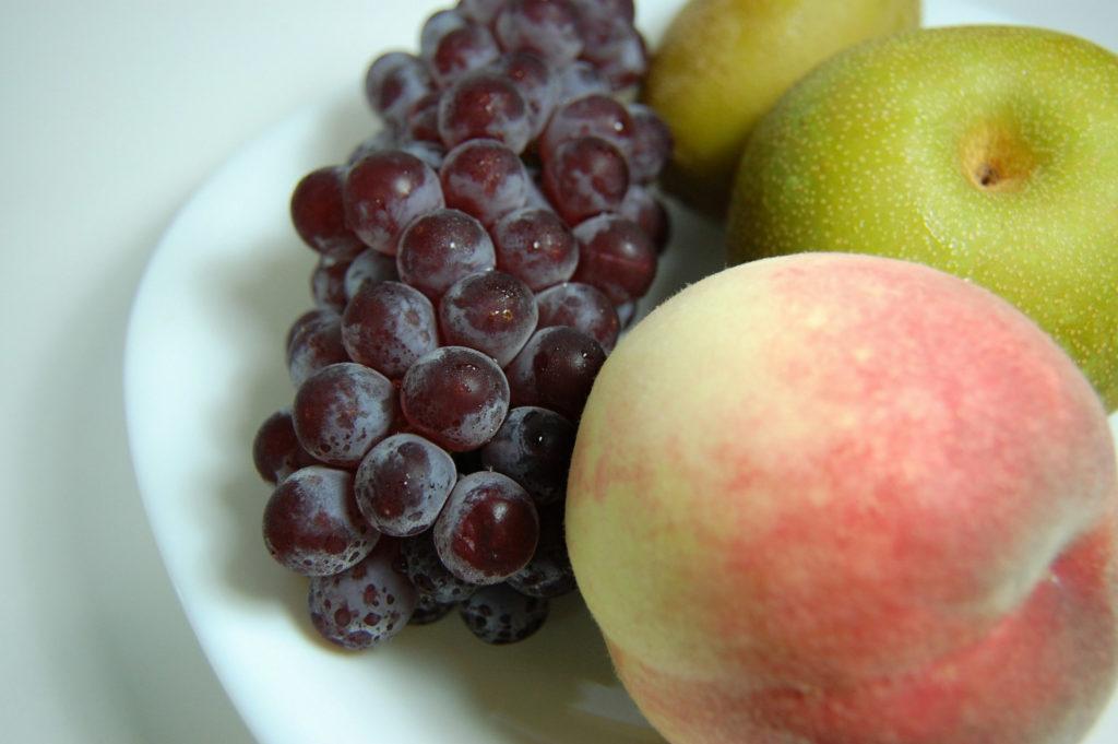 4つの果物