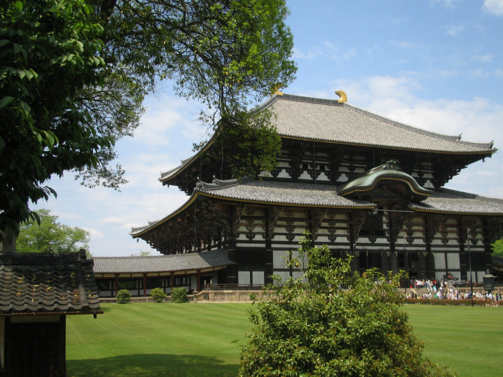 東大寺と庭園