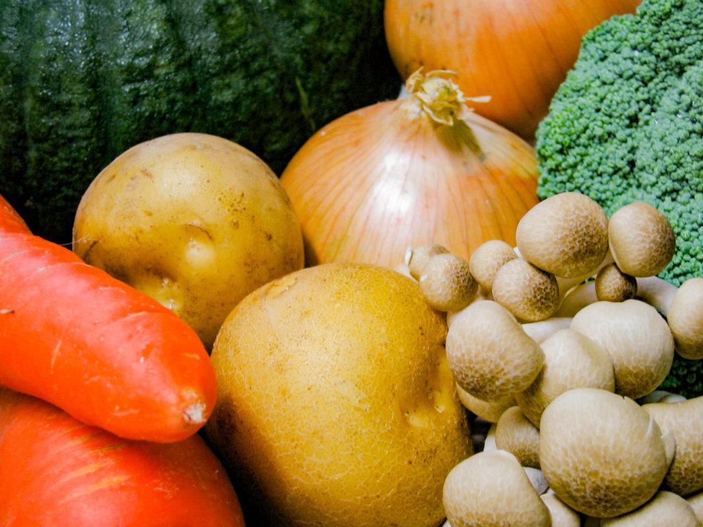 6種類の野菜