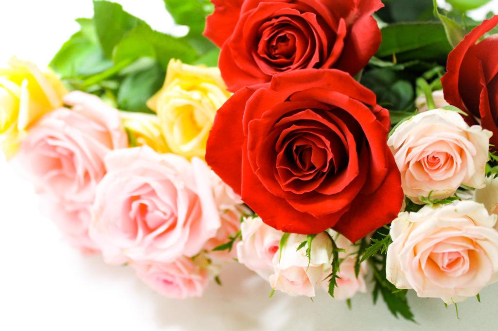 薔薇の花束3