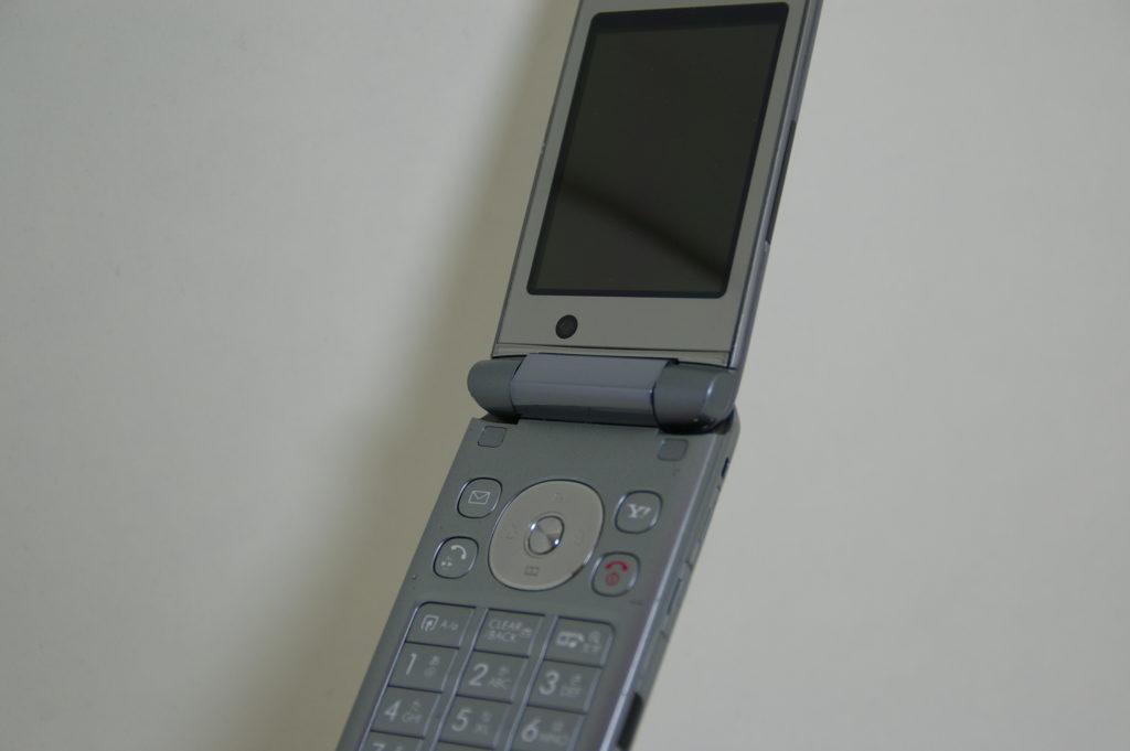 昔の折り畳み携帯電話