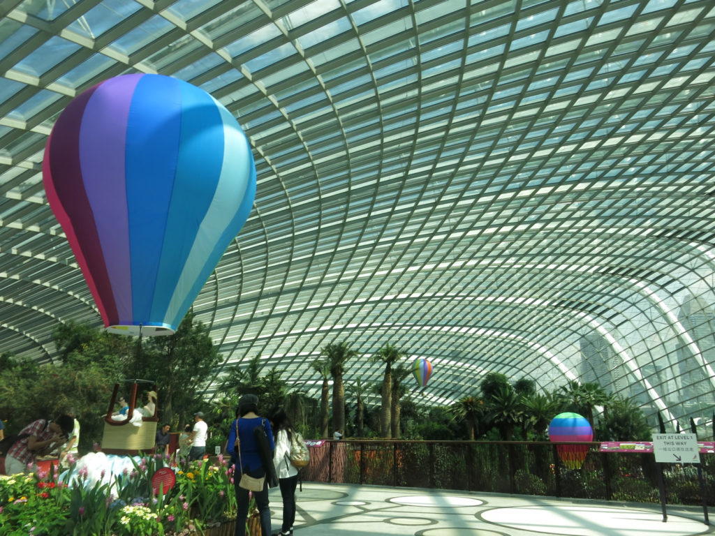 シンガポールの植物園