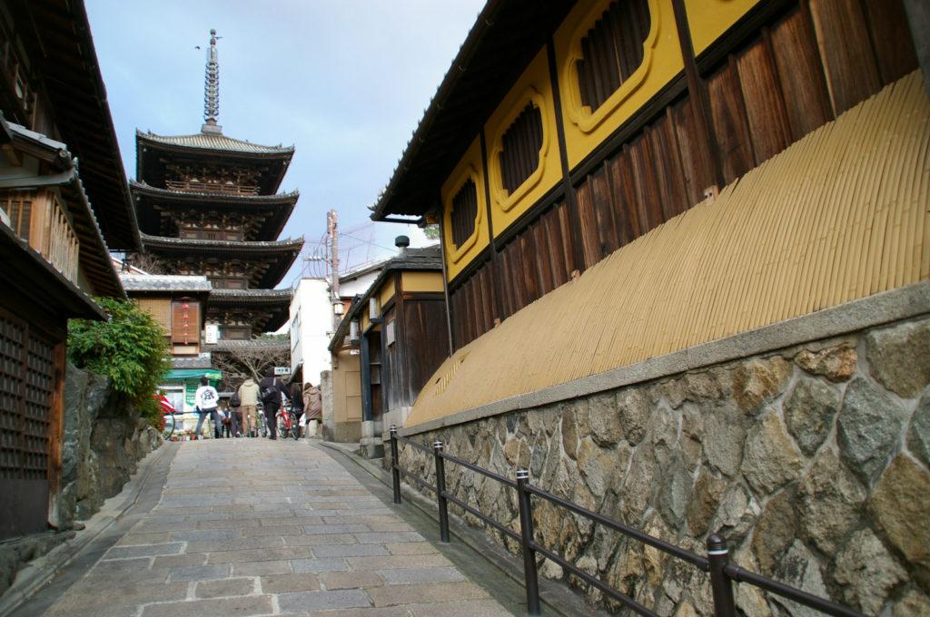 京都 石畳の路地3