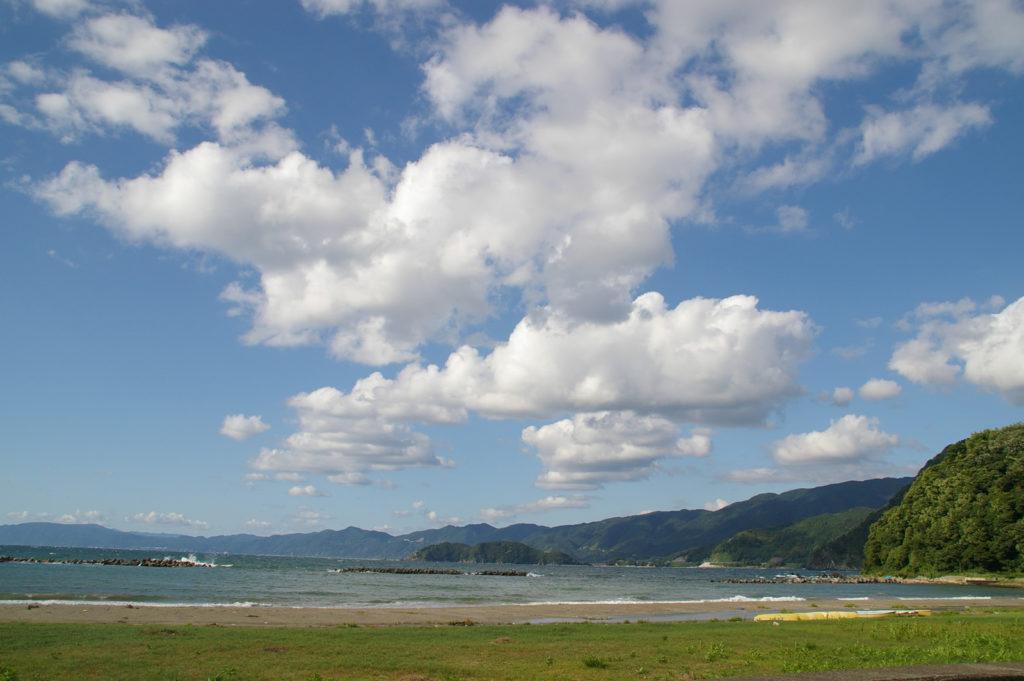 日本海のとある海岸