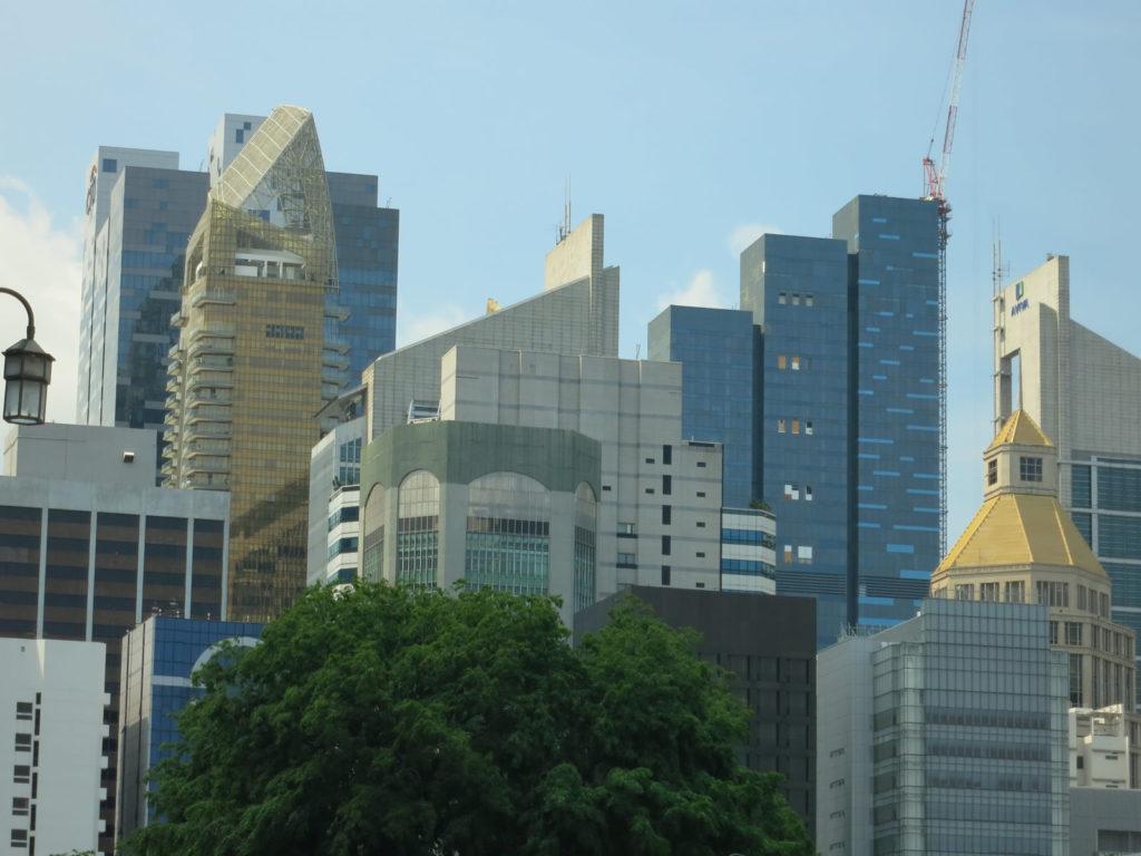 発展目覚しいシンガポールのオフィス街2
