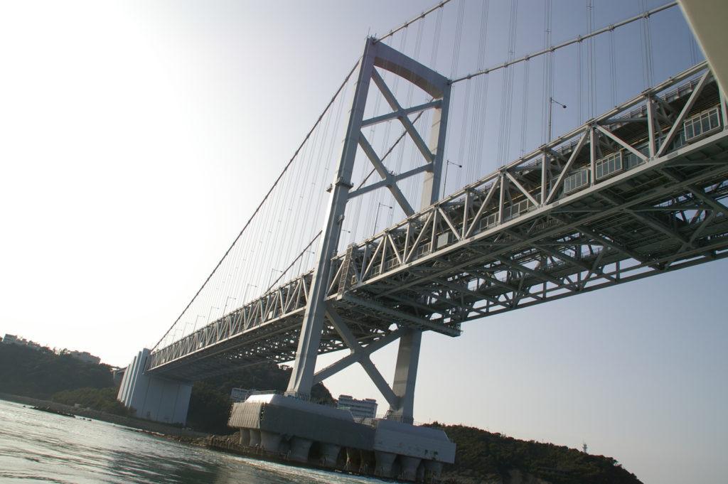 下から見上げる橋