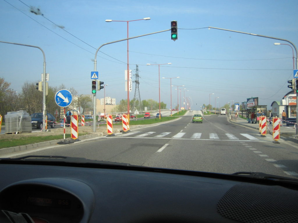 スロバキアの町並み