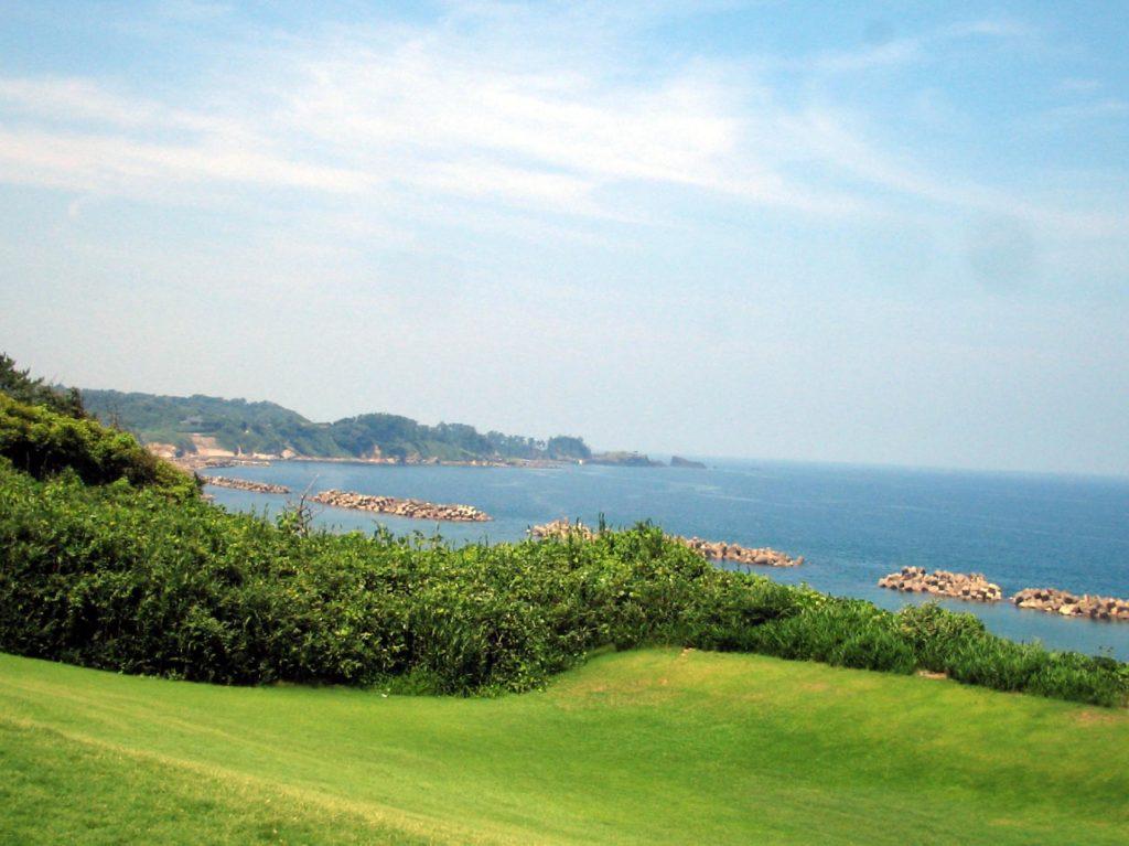福井県の海岸(8月撮影)