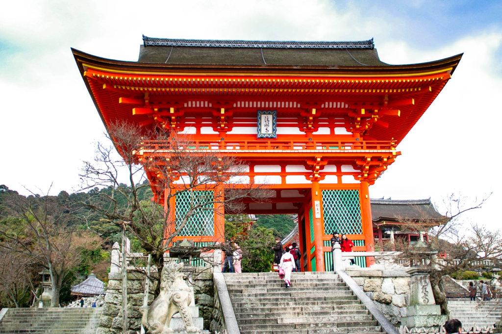清水寺の入り口の写真