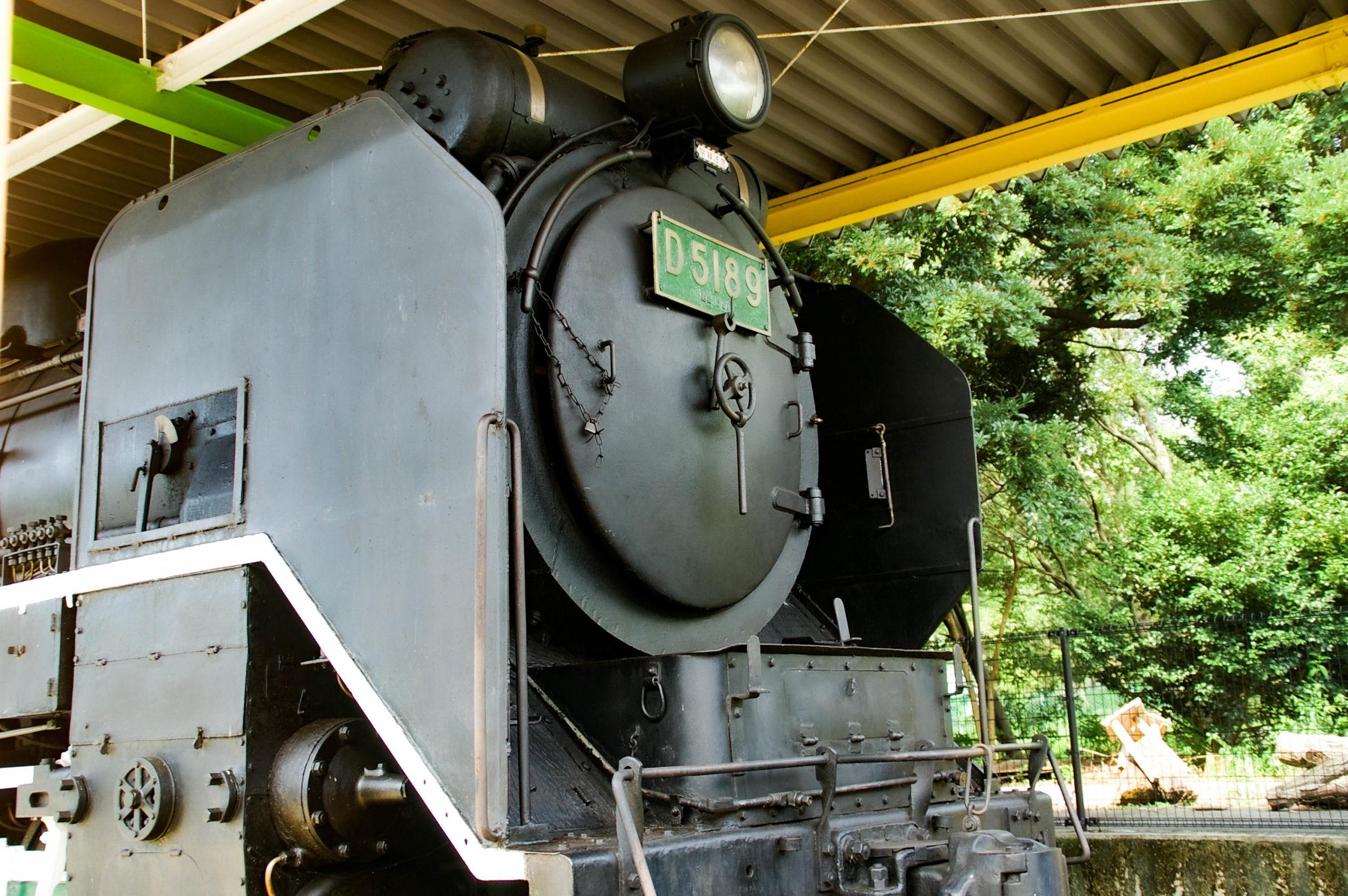 蒸気機関車D51の展示の写真